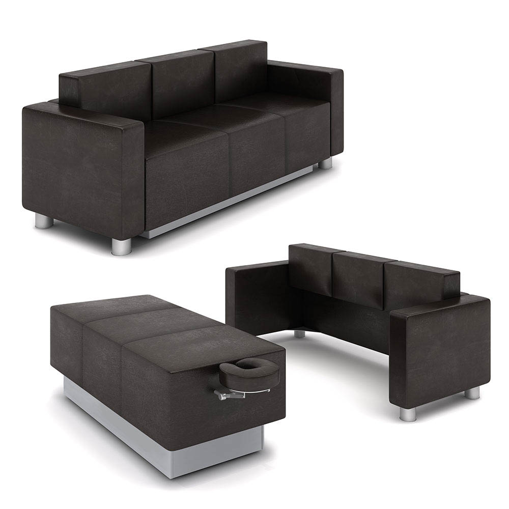Gharieni Transform - Sofa und Massageliege in Einem